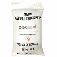 Grains Chickpeas 'Kabuli' 9mm 25kg Bag