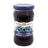 Jam 'J&J' Diabetics Blueberry 340gr