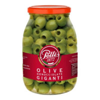 Polli Olives Green Pitted 1000gr