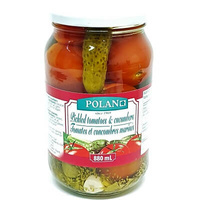 Assorti 'Polan' Tomatoes and Cucumbers 880gr