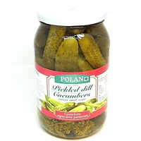 Cucumbers 'Polan' Pickled Dill Sweet and Sour 860gr