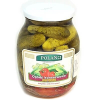 Cucumbers 'Polan' Dill Pickles with Sweet Pepper 840gr