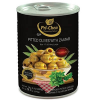 Olives 'Pri-Chen' Pitted With Zaatar 560gr