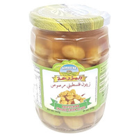Olives 'Almazraa' Cracked Green Olives Jar 560gr