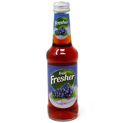 Drink 'Fresher' Grape 0.250ml Box of 24