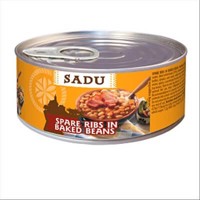 Pate 'Sadu' Spare Ribs in Baked Beans 300gr